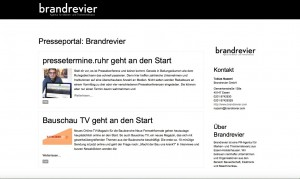 Neue Brandrevier-Webseite jetzt mit eigenem Presseportal