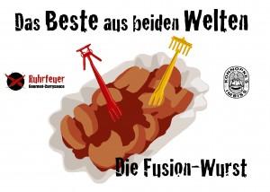 Ost/West-Currywurst in aller Munde