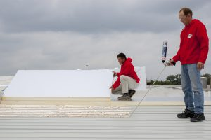 Verbessertes Dach-Klebesystem Soudatherm Roof