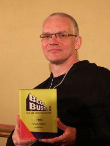 Torsten Seifert gewinnt Blogbuster-Preis