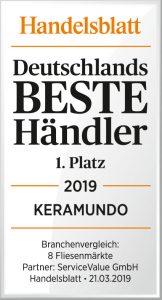 """Keramundo ist """"Bester Händler Deutschlands"""""""