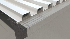 Fachpresse Schweiz / Sichere Verbindung von Stahltrapezblech und Beton