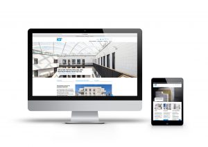 Digitale Informationsplattform im neuen Design