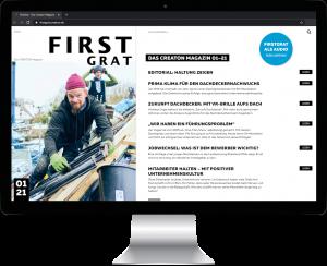 FirstGrat mit extra Infos im Netz